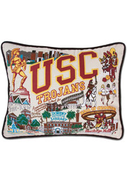 USC Trojans 16x20 Embroidered Pillow