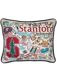 Stanford Cardinal 16x20 Embroidered Pillow