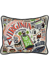 Virginia Cavaliers 16x20 Embroidered Pillow