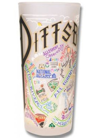 Pittsburgh 15oz Frosted Pint Glass