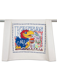 Kansas Jayhawks Printed and Embroidered Towel
