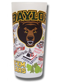 Baylor Bears 15oz Illustrated Frosted Pint Glass