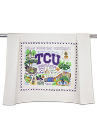TCU Horned Frogs Printed and Embroidered Towel