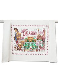 Oklahoma Sooners Printed and Embroidered Towel