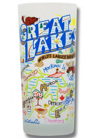 Great Lakes 15oz Frosted Tumbler