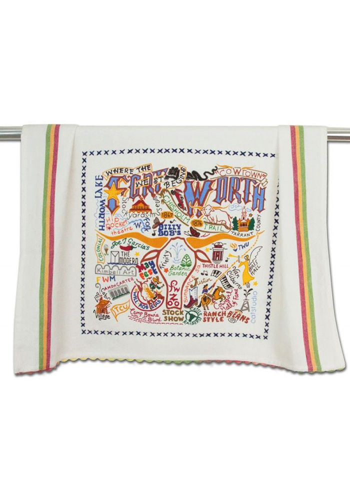 Fort Worth Embroidered Towel - Image 1