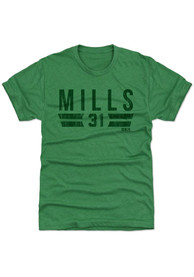 Jalen Mills Philadelphia Eagles Green Font G Fashion Player Tee