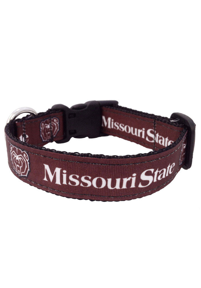 Missouri State Bears Team Logo Pet Collar - Image 1