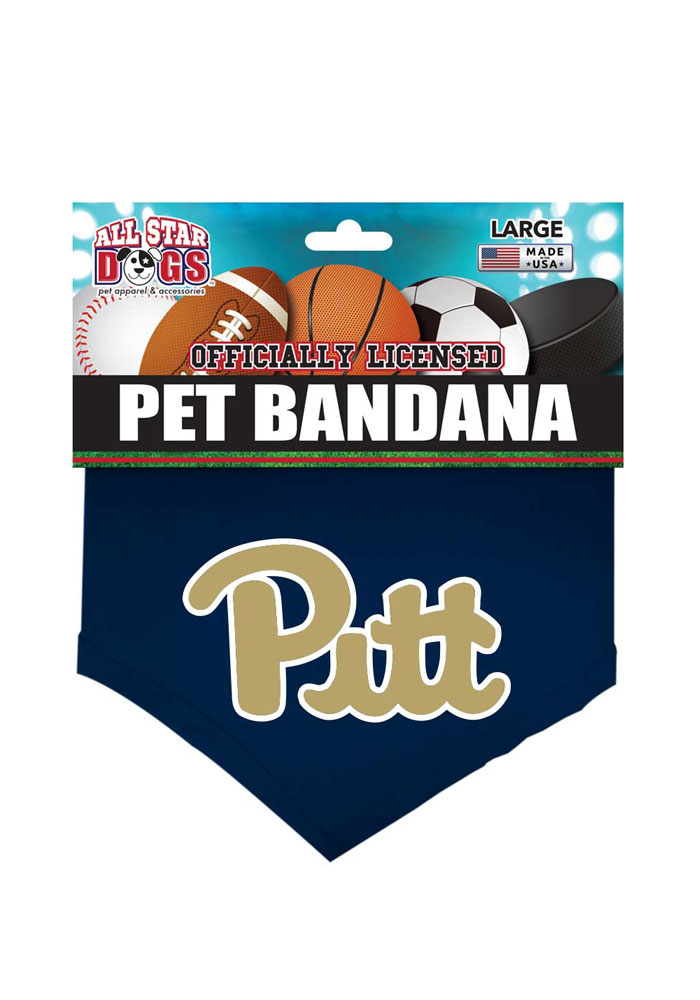 4c53d501bfd Pitt Panthers Team Logo Pet Bandana - 5030085