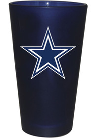 Dallas Cowboys Frosted Team Pint Glass