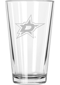 Dallas Stars Etched Pint Glass