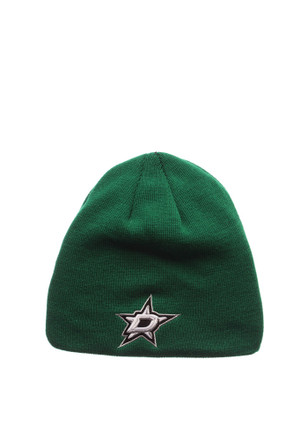 Zephyr Dallas Stars Green Edge Knit Hat