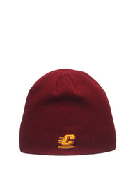 Central Michigan Chippewas Zephyr Edge Knit - Cardinal