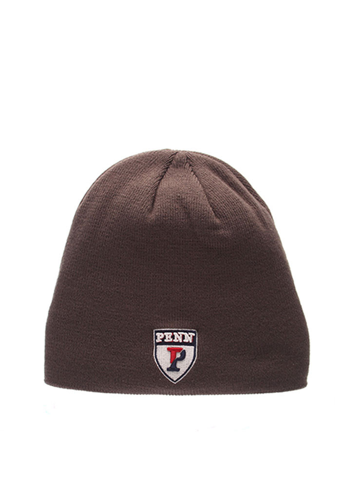 Zephyr Pennsylvania Quakers Grey Edge Mens Knit Hat - Image 1
