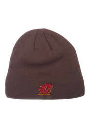 Central Michigan Chippewas Zephyr Edge Knit - Charcoal
