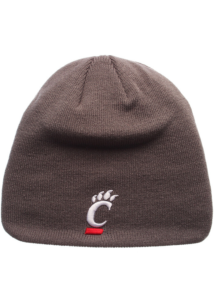 Zephyr Cincinnati Bearcats Grey Edge Mens Knit Hat - Image 1