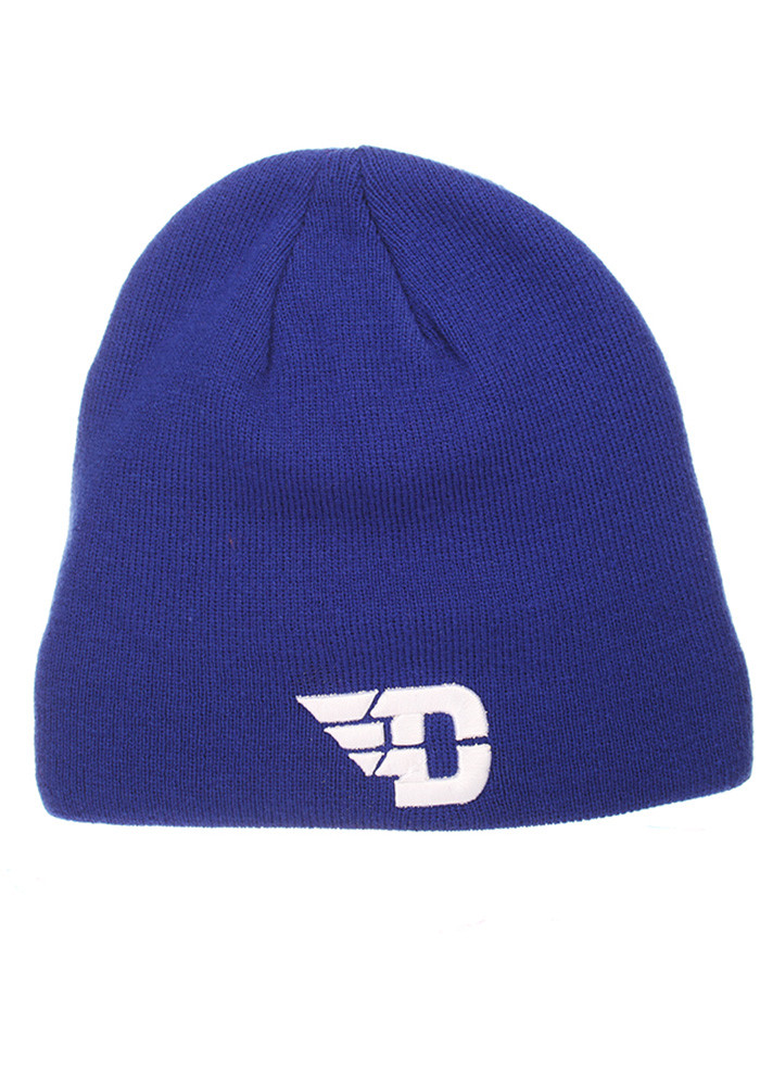 Zephyr Dayton Flyers Blue Edge Mens Knit Hat - Image 1