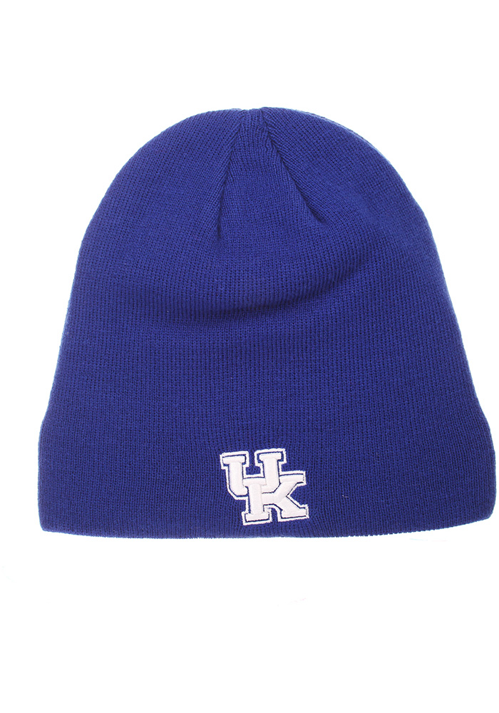Zephyr Kentucky Wildcats Blue Edge Mens Knit Hat - Image 1