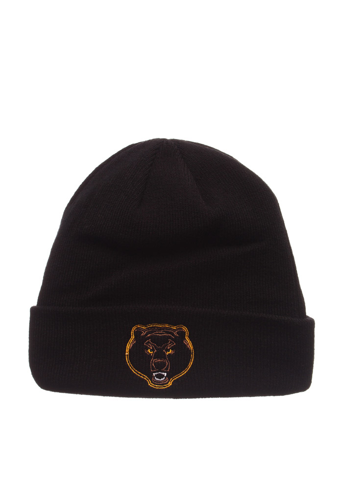 big sale 31ad7 fc8b7 ... low price zephyr baylor bears black xray pop cuff knit hat 27774 1d55e