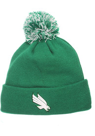 North Texas Mean Green Zephyr Pom Knit - Green