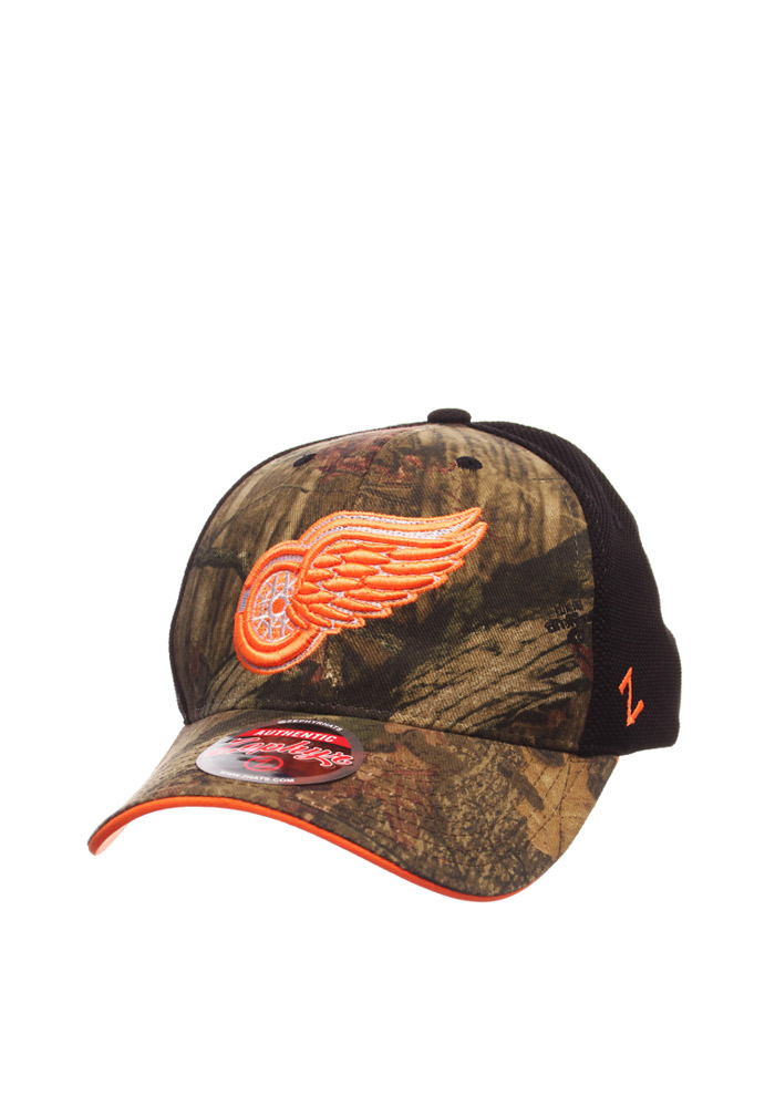 Zephyr Detroit Red Wings Scope Adjustable Hat - Green - Image 1
