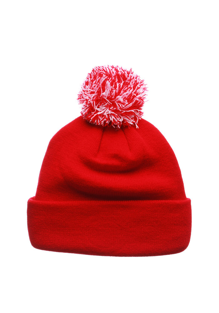 Zephyr Detroit Red Wings Red Seal Mens Knit Hat - Image 2