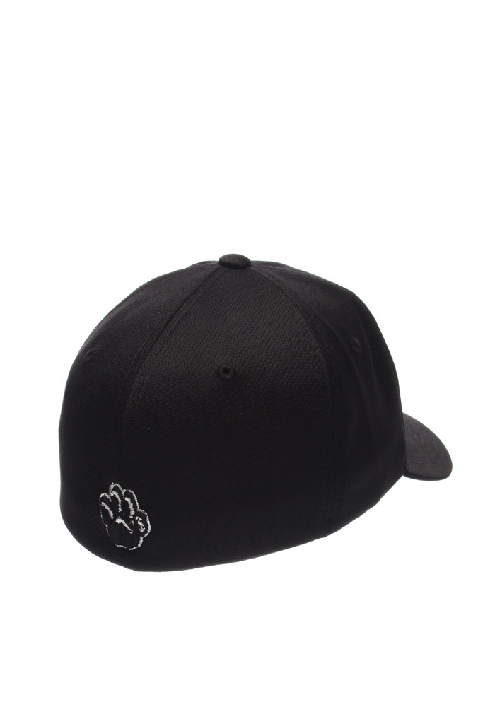 Zephyr Pitt Panthers Mens Black Synergy Flex Hat - Image 2