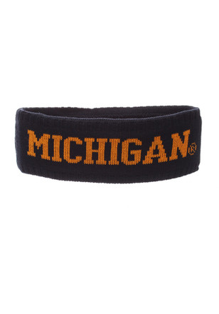 Zephyr Michigan Wolverines Navy Blue Halo Knit Hat