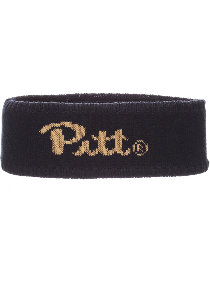 Zephyr Pitt Panthers Navy Blue Halo Mens Knit Hat - Image 1