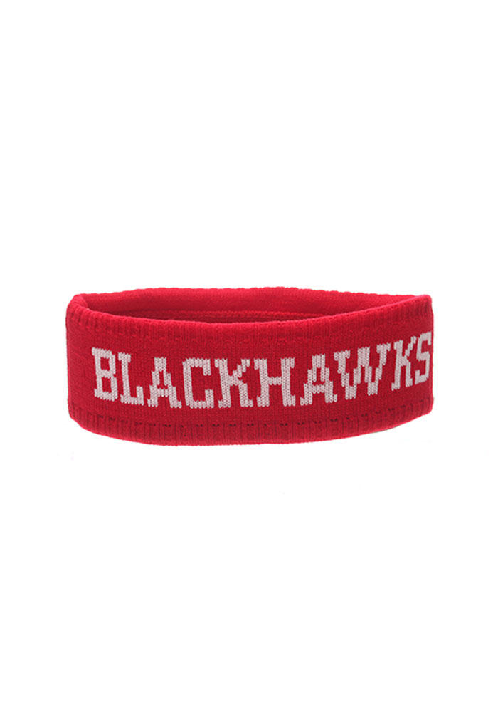 Zephyr Chicago Blackhawks Red Halo Knit Hat