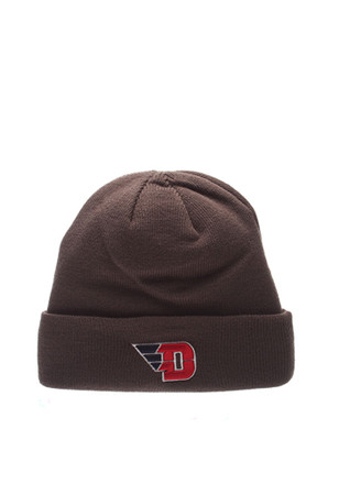 Zephyr Dayton Flyers Grey Pop Cuff Knit Hat