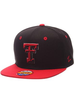 Zephyr Texas Tech Red Raiders Kids Black Z11 Phantom Snapback Hat
