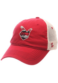 Texas Tech Red Raiders Zephyr Contour Adjustable Hat - Charcoal