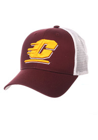 Central Michigan Chippewas Zephyr Big Rig Adjustable Hat - Maroon