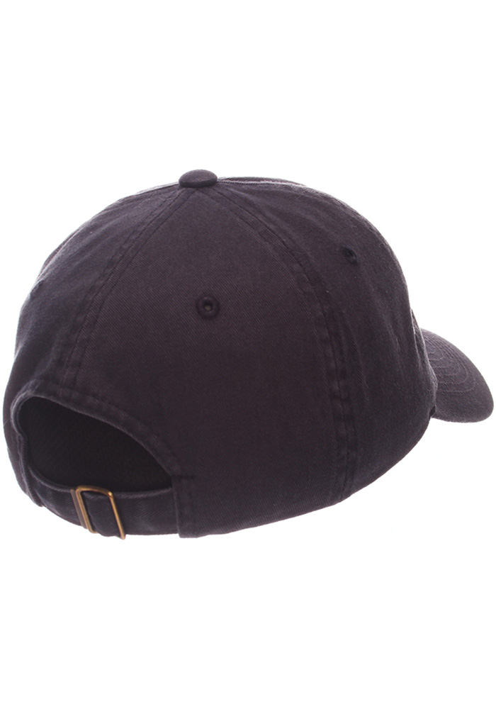 Mens Navy Blue Pig Slouch Adjustable Hat - Image 2