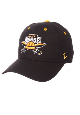 Zephyr Northern Kentucky Norse Mens Black Competitor Adjustable Hat