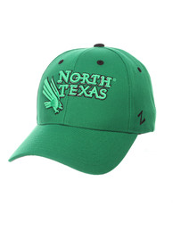 North Texas Mean Green Zephyr Competitor Adjustable Hat - Green