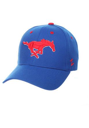 Zephyr SMU Mustangs Mens Blue Competitor Adjustable Hat