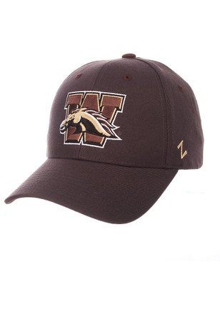 Zephyr Western Michigan Broncos Mens Grey Competitor Adjustable Hat