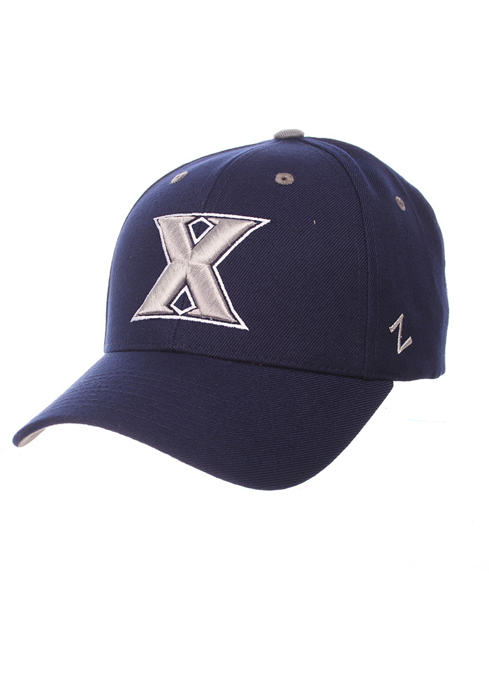 free shipping 462d3 e218c ... italy zephyr xavier musketeers mens navy blue competitor adjustable hat  image 1 2f587 52e56