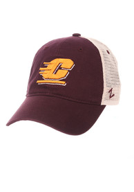 Central Michigan Chippewas Zephyr University Adjustable Hat - Maroon