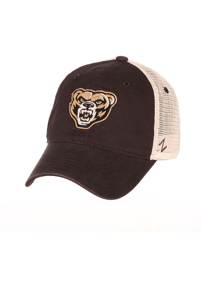 cf22976447727 ... italy zephyr oakland university golden grizzlies grey university  adjustable hat e9588 65abb