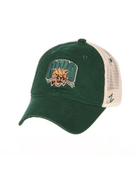 Ohio Bobcats Zephyr University Adjustable Hat - Green