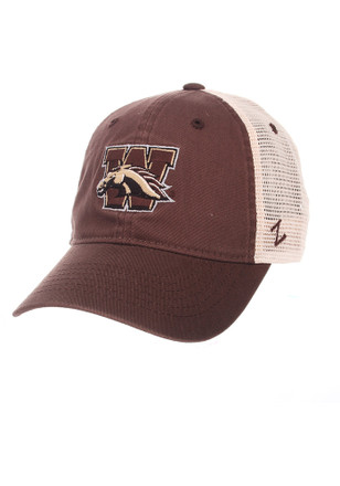 Zephyr Western Michigan Broncos Mens Brown University Adjustable Hat