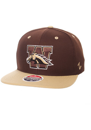 Zephyr Western Michigan Broncos Mens Brown Z11 Snapback Hat