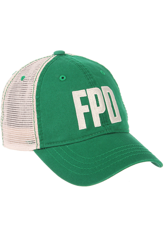 Aggieville Mens Green Fake Paddy's Day University Adjustable Hat - Image 1