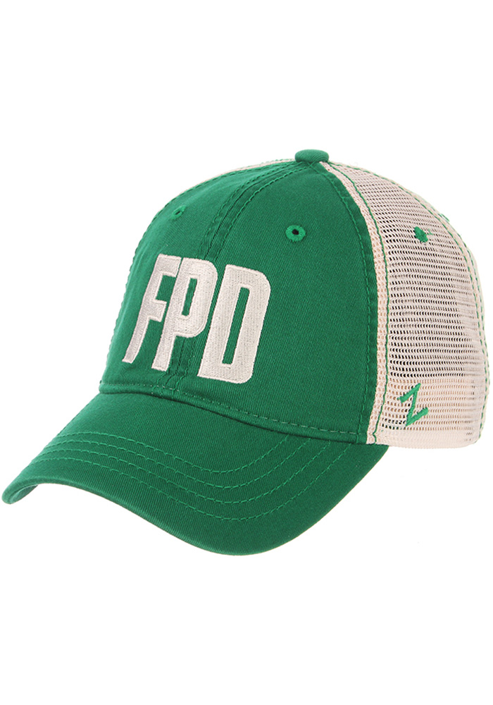 Aggieville Mens Green Fake Paddy's Day University Adjustable Hat - Image 2