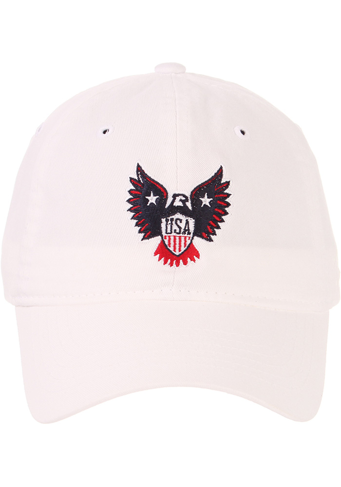 Zephyr Team USA Mens White Eagle Adjustable Hat - Image 5
