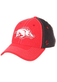 Arkansas Razorbacks Zephyr Clash Flex Hat - Black