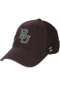 Baylor Bears Zephyr Raven Meshback Adjustable Hat - Charcoal